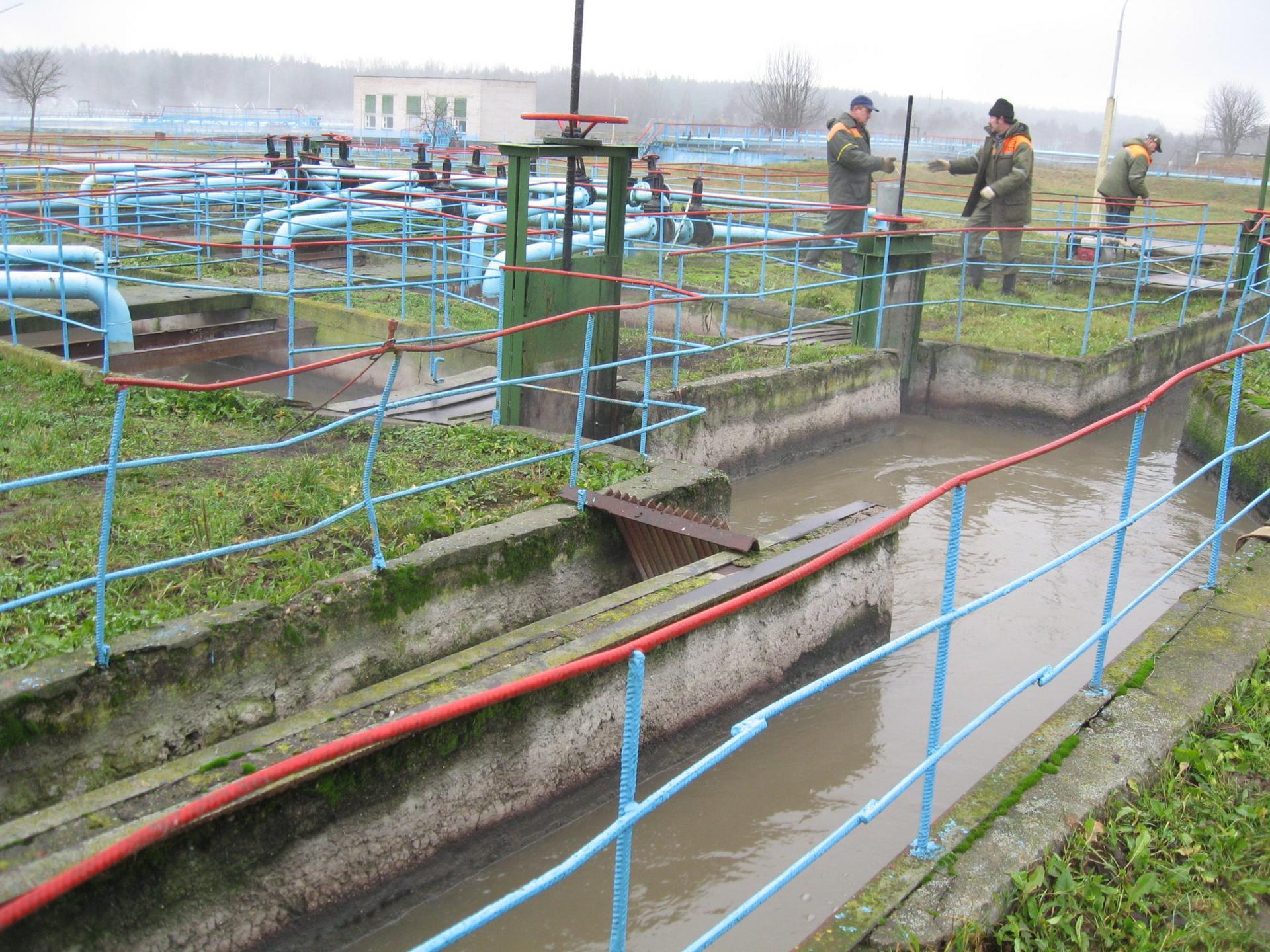 Grodnon jätevedenpuhdistamo