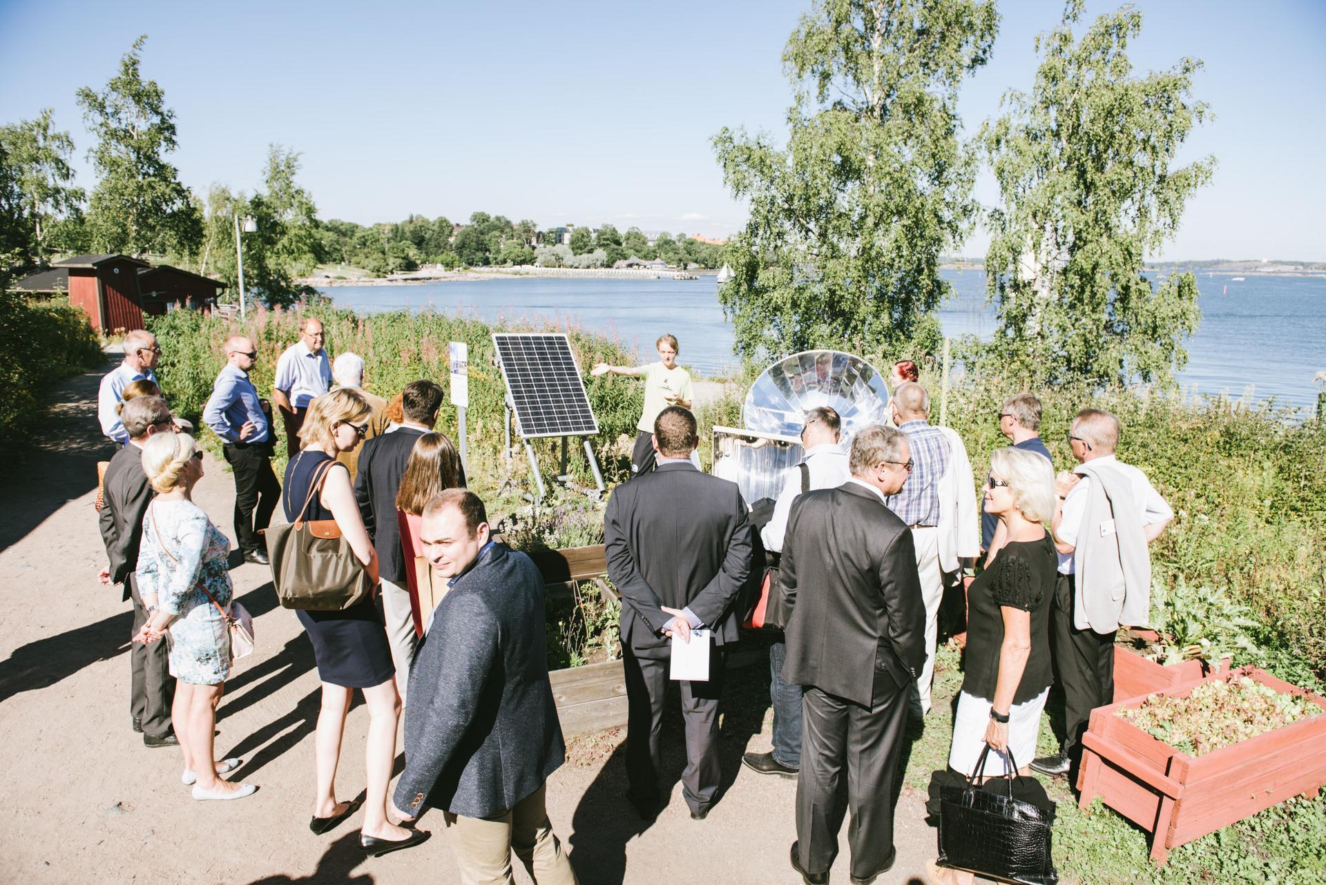 harakka aurinkoenergia