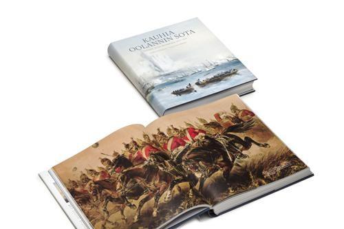 Kauhia Oolannin sota -kirjan aukeama