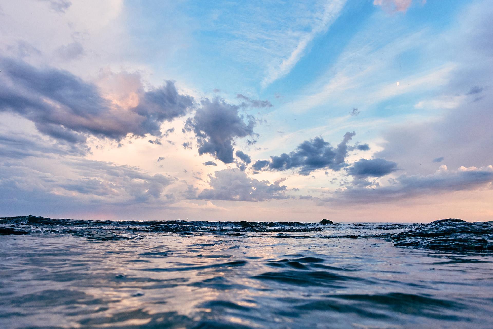 Kuvituskuva merestä