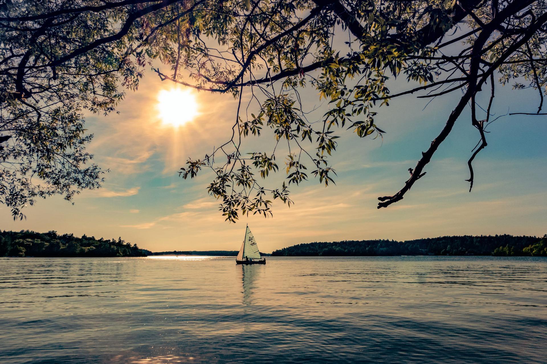 Purjevene Itämerellä