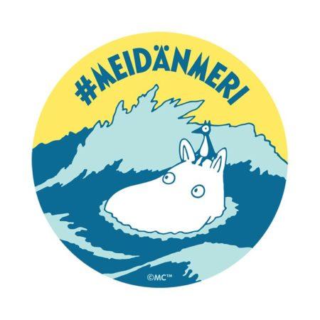 #Meidänmeri-kampanjan tunniste.